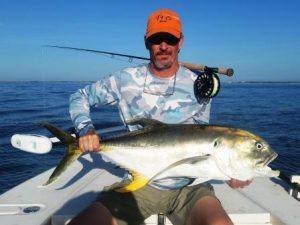27 lb Jack Crevalle on Orvis H2 11 weight